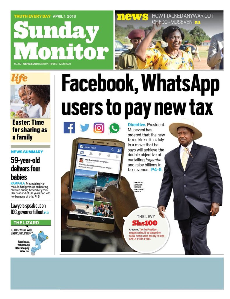 Internet Usage in Uganda is political as it is economic